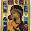 Богоматерь Умиление с деисусом и избранными святыми. Начало XVI в., Русский музей.jpg